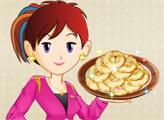 Игра Кухня Сары: Бенье из яблок