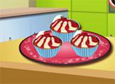 Игра Кухня Сары: Вишневый кекс