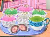 Игра Кухня Сары: Сладкие Рисовые Пирожки