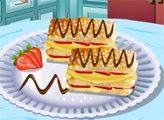 Игра Кухня Сары: Слоеный торт Наполеон