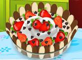 Игра Кухня Сары: Шоколадный мусс