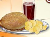 Игра Кухня Сары: Куриный Сэндвич