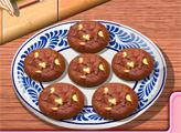 Игра Кухня Сары: Шоколадное печенье