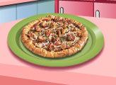 Игра Кухня Сары: Домашняя Пицца