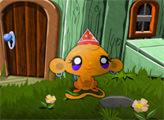 Игра Счастливая обезьянка: Маленькие обезьянки