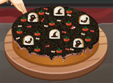 Игра Кухня Сары: Торт Кладбище