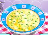 Игра Кухня Сары: Куриный суп