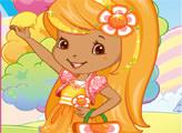 Игра Шарлотта Земляничка: Стиль Апельсинка