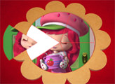 Игра Шарлотта Земляничка: Круглый пазл
