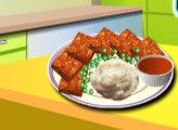 Игра Кухня Сары: Мясной рулет