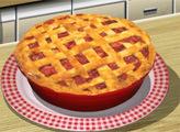 Игра Кухня Сары: Пирог с Ревенем