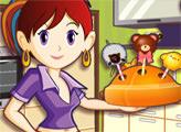 Игра Кухня Сары: Печенье на палочке