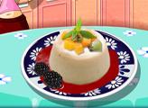 Игра Кухня Сары: Панна Котта