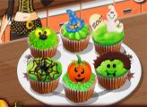 Игра Кухня Сары: Кексы на Хеллоуин