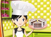 Игра Кухня Сары: Готовим Торт-мороженое