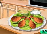 Игра Кухня Сары: Запеченная курица