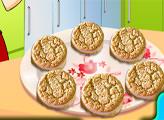 Игра Кухня Сары: Печенье с арахисовым маслом