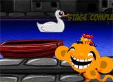 Игра Счастливая обезьянка: Летучие мыши