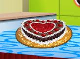 Игра Кухня Сары: Шварцвальд торт
