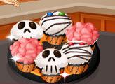 Игра Кухня Сары: Кексы-Страшилки