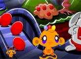 Игра Счастливая обезьянка: Яйца к пасхе