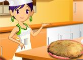 Игра Кухня Сары: Куриный Пот-Пай