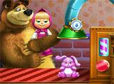 Игра Маша и Медведь - Уборка игрушек