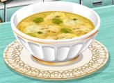 Игра Кухня Сары: Куриный суп с клецками
