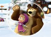 Игра Маша и Медведь Скрытые цифры