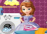 Игра Принцесса София - глажка