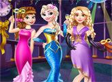 Игра Новогодний бал Принцесс