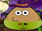 Игра Костюм Поу на Хеллоуин