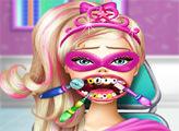 Игра Супер Барби у Стоматолога