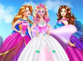 Игра Супер Барби и Свадебный наряд