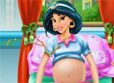 Игра Беременная Жасмин у врача