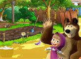 Игра Маша и Медведь: поиск на ферме