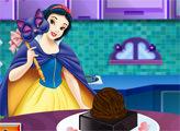 Игра Белоснежкин торт на Хеллоуин