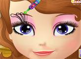 Игра Рисунок на лице Софии