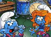 Игра Пазл: Концерт смурфиков