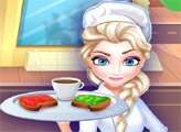 Игра Ресторан Эльзы - завтрак