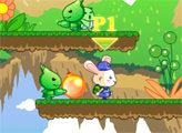 Игра Пузыри Кроликов 2