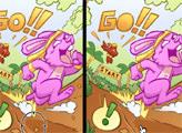 Игра Кролик и черепаха: Найти отличия