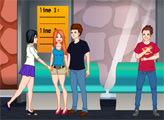 Игра Шалости на автобусной остановке