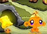Игра Счастливая обезьянка: Сокровище