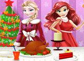 Игра Ариэль - Рождественский ужин 2