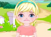 Игра Аллергия у маленькой Эльзы