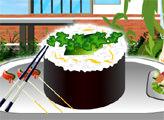 Игра Украшение суши