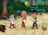 Игра Пазл - экипаж друзей рыбаков