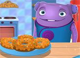 Игра О готовит пончики