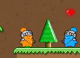 Игра Коты-близнецы воины